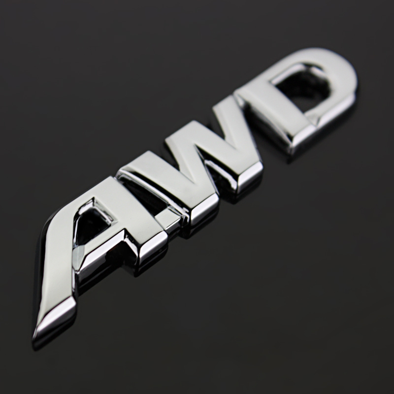 NUEVO-Metal-3D-Auto-Car-Rear-Trunk-Bage-AWD-Emblema-Decal-Sticker-Para-Todas-Las-Ruedas