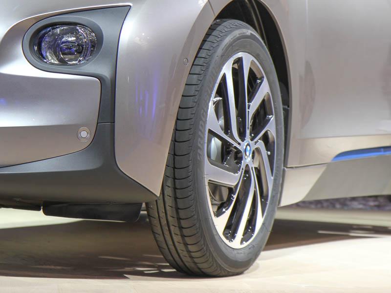 Skinny tires - BMW i3 intro July 2013 NYC