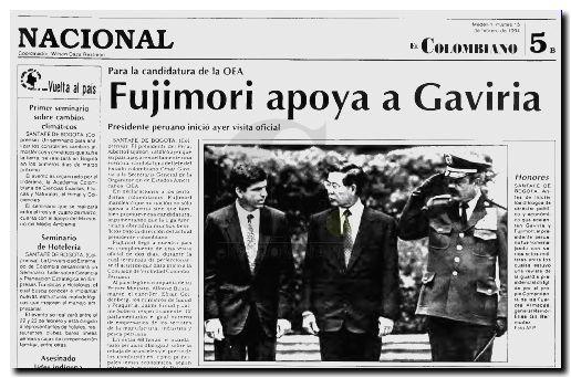 Fujimori - Gaviria