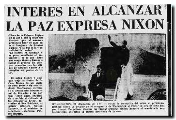 Nixon viaja a Europa