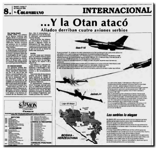 Otan ataca Bosnia