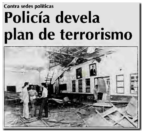 Plan terrorista