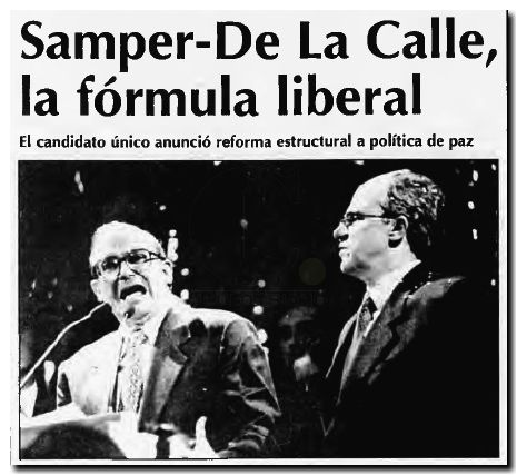 Samper - De la Calle