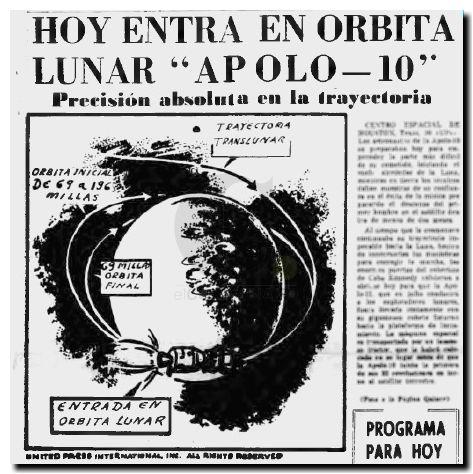Apolo 10 en orbita