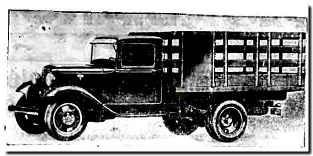 Camion FordV8