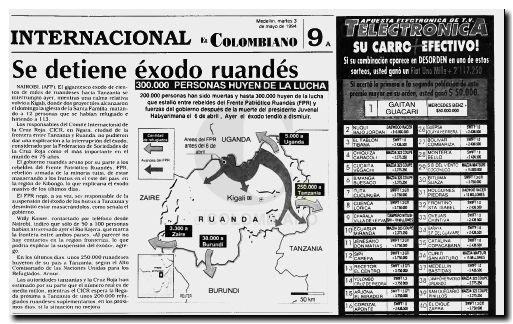 Ruanda Exodo