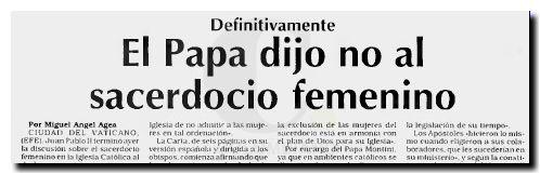 Sacerdocio Femenino