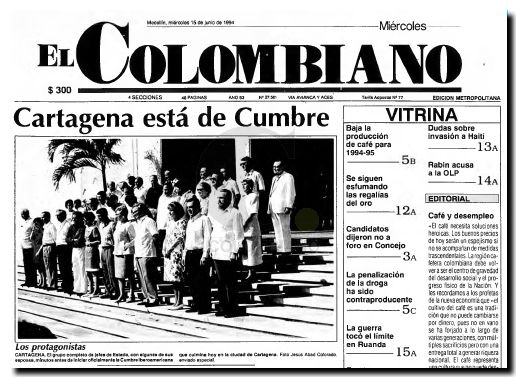 Cumbre en Cartagena