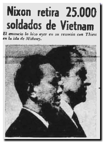 Nixon en Vietman