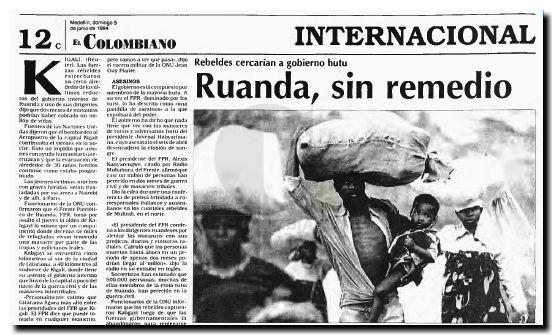 Ruanda horror