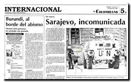 Sarajevo 1994