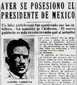 Lazaro Cárdenas