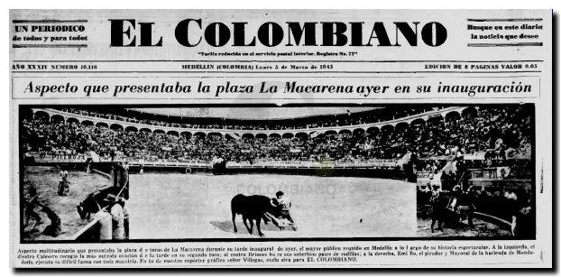 Plaza Macarena 1945