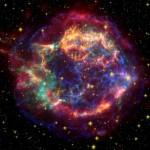 Foto de Casiopea A, un remanente de supernova. Foto Nasa/JPL