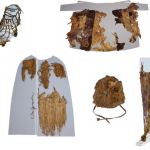 Partes de las prendas y utensilios de Ötzi. Institute for Mummies and the Iceman