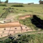 Sitio del hallazgo de los artefactos en Argentina que dan otra fecha acerca de la llegada de los humanos. Foto Politis et al