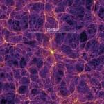 Imagen de la web cósmica. Consorcio Virgo