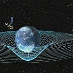 La materia curva el espacio-tiempo. Dibujo Wikipedia Commons