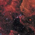 Gran foto del remanente de la supernova 1987A tomada por el Hubble hace un mes. Foto ESO/NASA