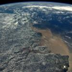 Boca del Amazonas. Foto ESA