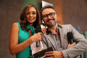 Héctor Garcés Hellen Campillo, que hasta hace poco presentó Serenata