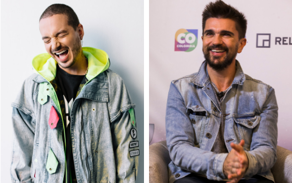 J Balvin y Juanes tienen 3 de las canciones más exitosas en español según Billboard. FOTOS Cortesía y Julio C. Herrera