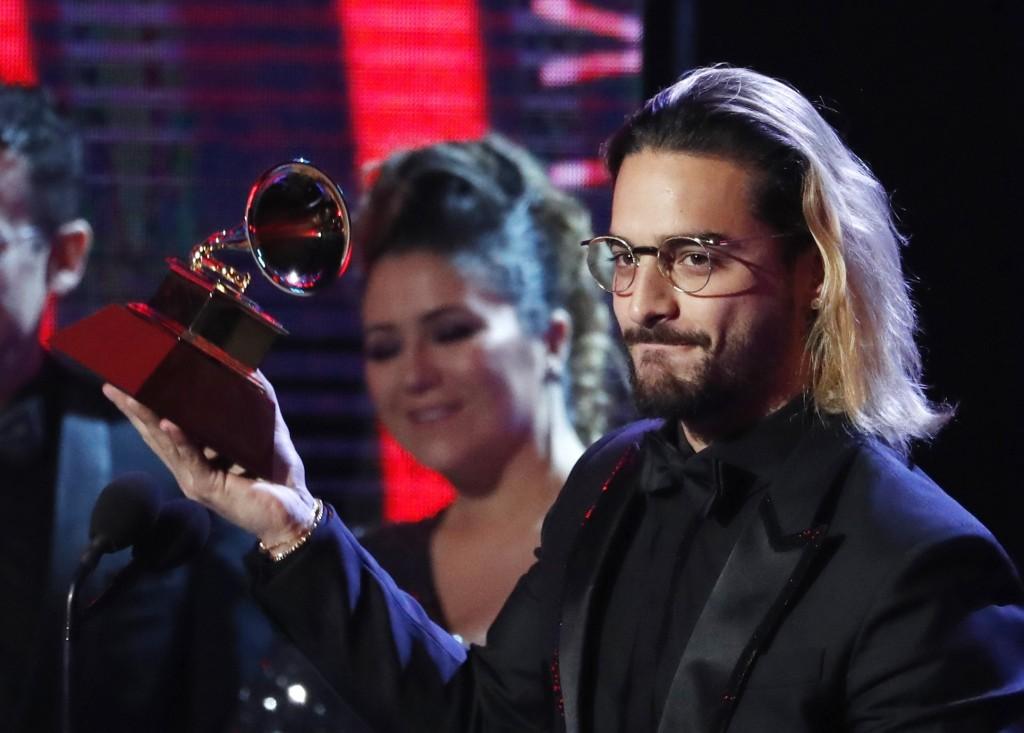 Maluma ganó en la categoría Mejor álbum vocal pop comtemporáneo. FOTO Reuters