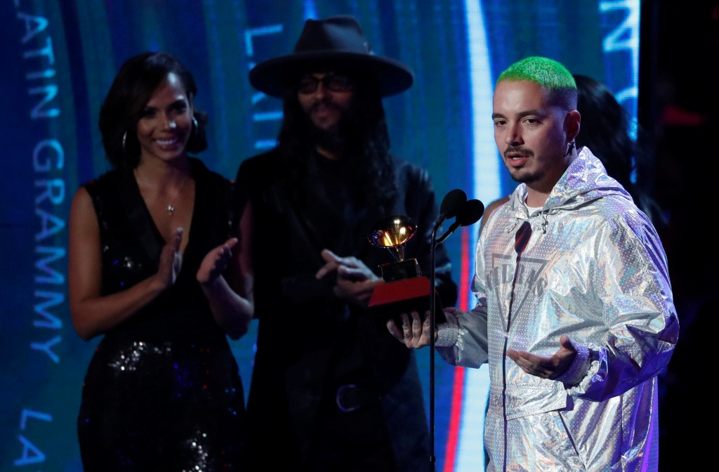 19th Latin Grammy Awards¿ Show ¿ Las Vegas, Nevada, U.S.