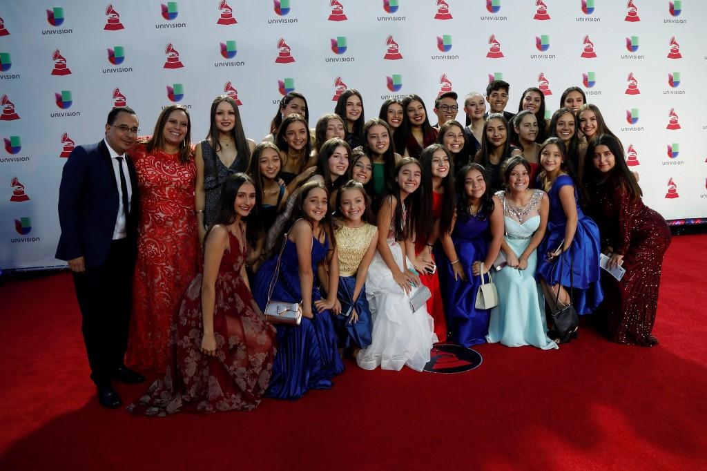 La escuela de teatro musical Claraluna ganó en la categoría de Mejor Álbum de Música Latina para niños. FOTO EFE
