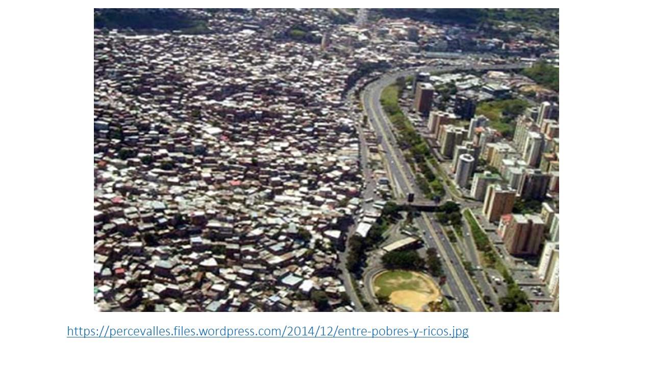 muro entre ricos y pobres
