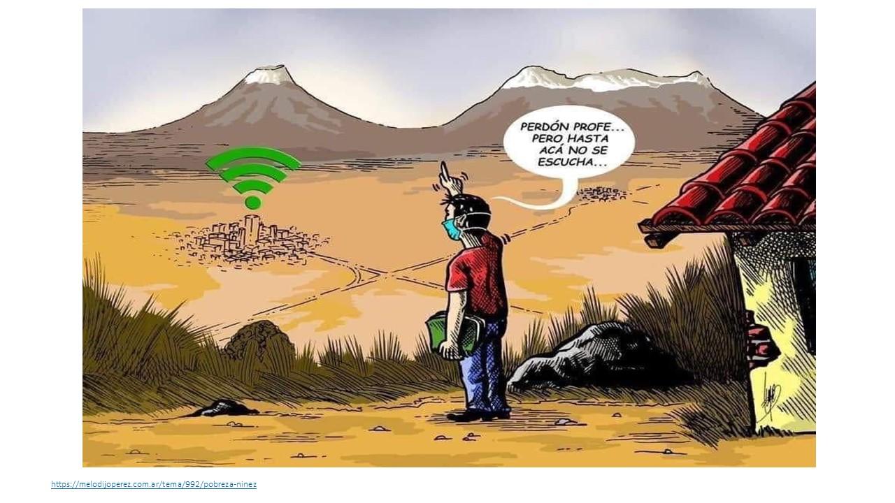 niños sin conectividad para su educacion