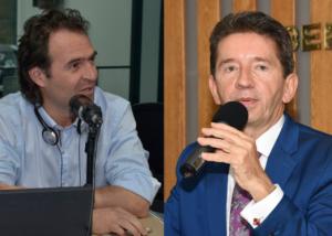 Tanto el Gobernador de Antioquia, Luis Pérez como el Alcalde de Medellín, Federico Gutiérrez han coincidido en afirmar que la atención de los usuario de Savia Salud no está en riesgo. Fotos Cortesía Blu Radio
