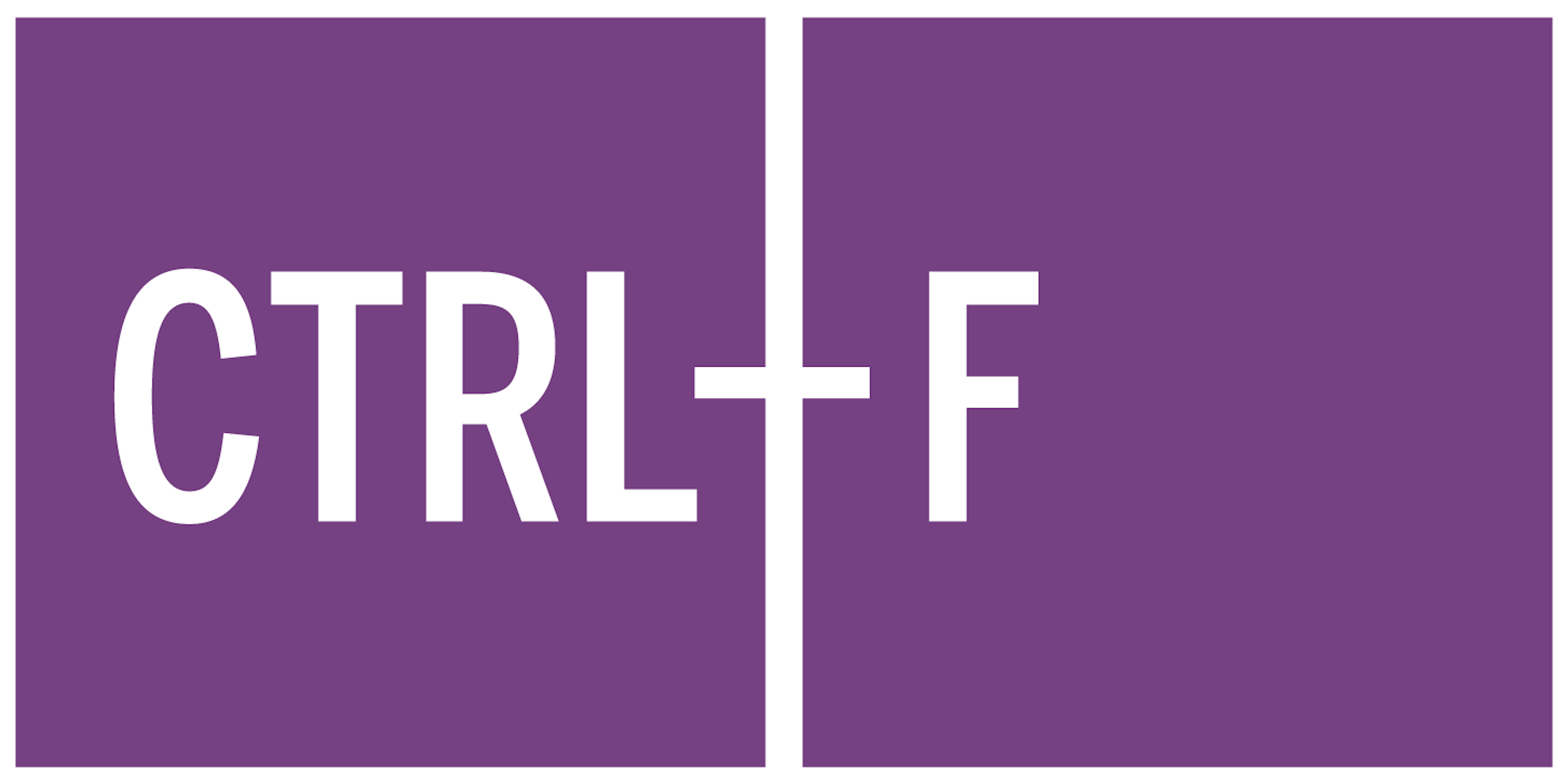 CTRL-F