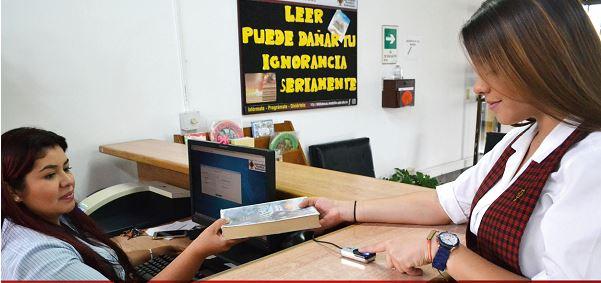 Cortesía Colegio UPB- Biblioteca Bachillerato