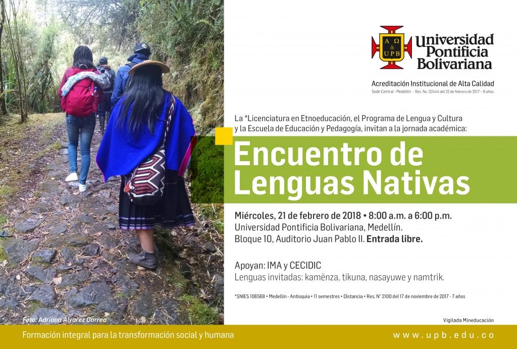 Encuentro lenguas nativas