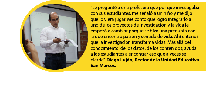 Diego, rector