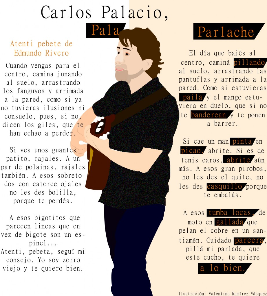 Pala cantanto Atenti pebete versión original y en parlache
