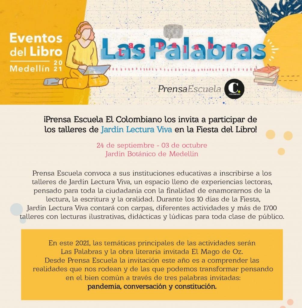 Blog Jardín Lectura Fiesta
