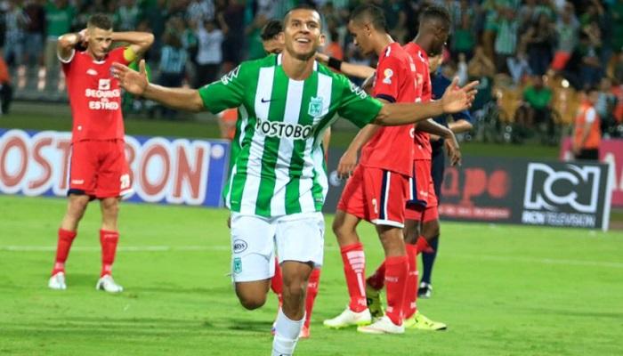 David Castañeda, otro de los juveniles que debutó con gol. FOTO CORTESÍA ATLÉTICO NACIONAL.
