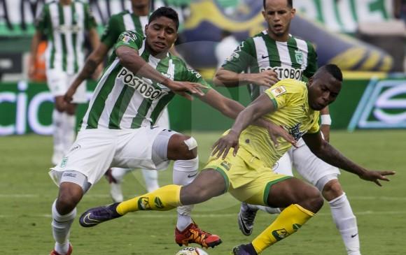 Luis Carlos Ruiz, además de gol, fue determinante en filtrar balones para otros goles. FOTO EL COLOMBIANO.
