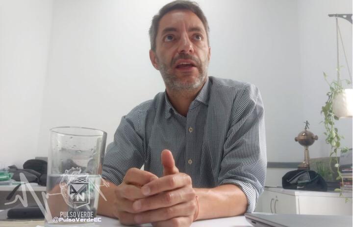 Ricardo Zapata Wills, director de Mercadeo de Atlético Nacional. Fotos Jonny Sampedro.