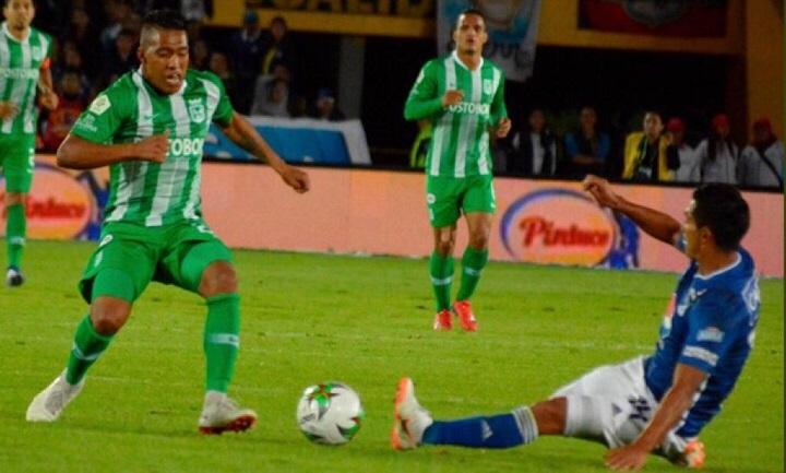 Sebastián Gómez es uno de los jugadores de mayor regularidad este año en Nacional. Foto cortesía @nacionaloficial