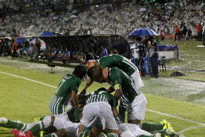 Con el profesor Juan Carlos Osorio como DT, Nacional le ganó la final de la Copa Postobón a Millonarios en 2013. Foto El Colombiano.
