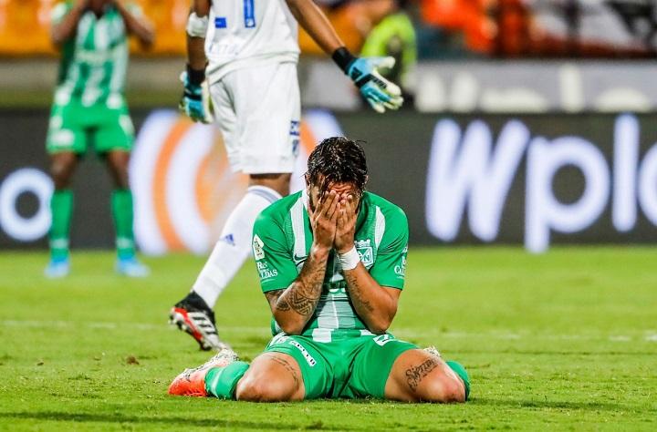 Patricio Cucchi no es opción para el cuerpo técnico a la hora de las sustituciones. En Liga, nunca ha entrado a remplazar a otro compañero. Foto El Colombiano.