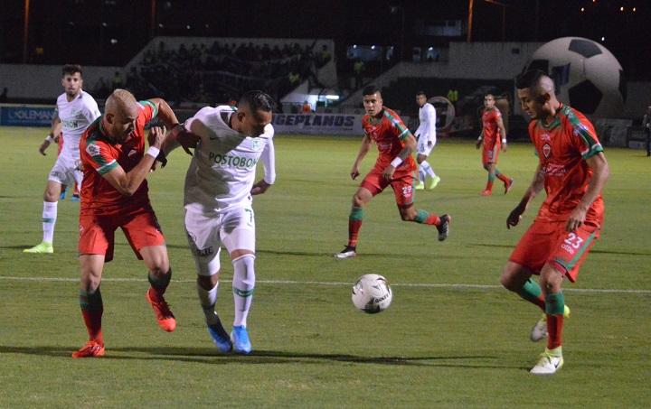 Jarlan Barrera es uno de los jugadores que más ausente se ha visto dentro de la cancha, después haber sido figura en los primeros partidos del torneo. Foto Colprensa.