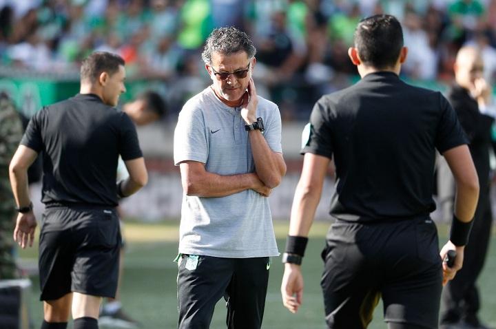El profesor Juan Carlos Osorio regresa esta semana, luego de su periplo por Inglaterra. Foto EL COLOMBIANO.