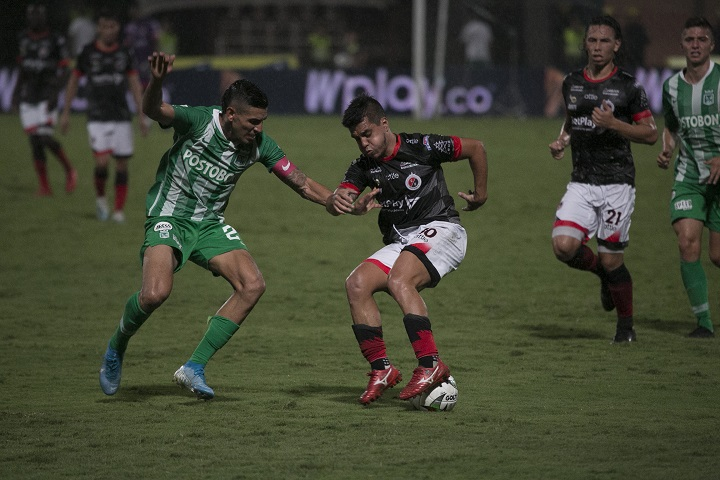 Nacional cerró  el 2019 con una victoria por 0-1 ante Cúcuta en el estadio General Santander. Foto cortesía Colprensa.