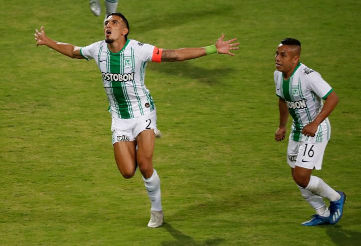 Daniel Muñoz y Vladimir Hernández fueron figuras ante Huracán. Anotaron dos de los tres goles. Fotos Manuel Saldarriaga.