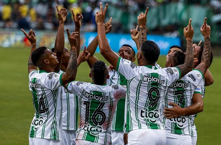Jéfferson Duque anotó doblete contra Medellín. Foto El Colombiano.