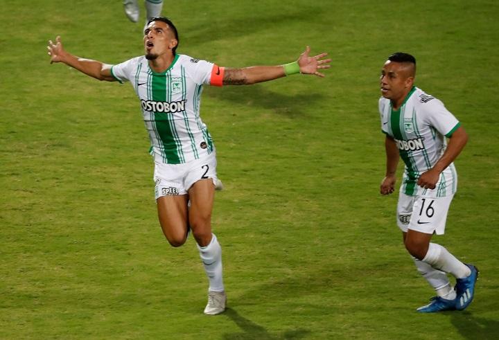 Daniel Muñoz oficia como capitán en este 2020 tras la salida de Alexis Henríquez del conjunto verdolaga. FOTO EL COLOMBIANO.